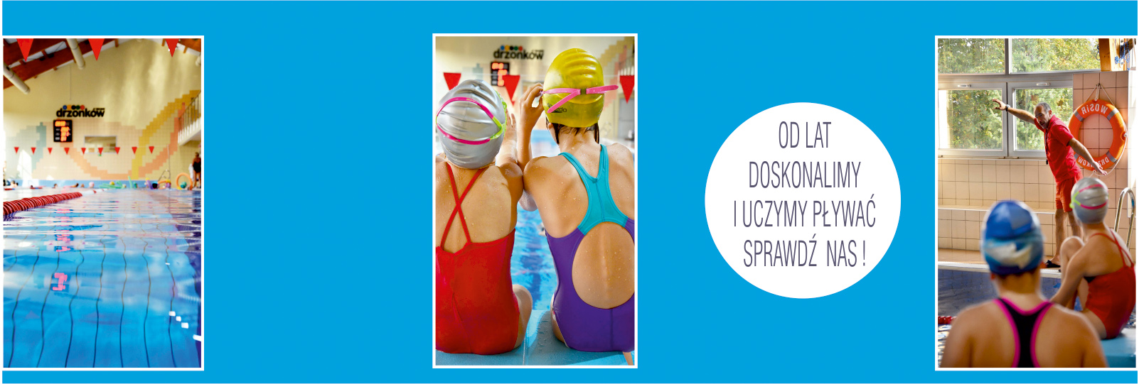 Baner: nauki pływania