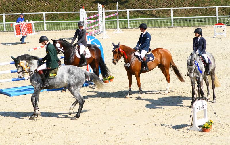 Ilustracja do informacji: Polsko-Niemieckie Zawody Jeździeckie w Drzonkowie