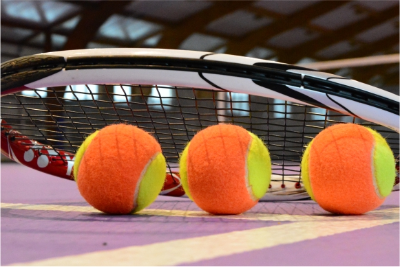 Ilustracja do informacji: Młodzi tenisiści walczyli w Drzonkowie!